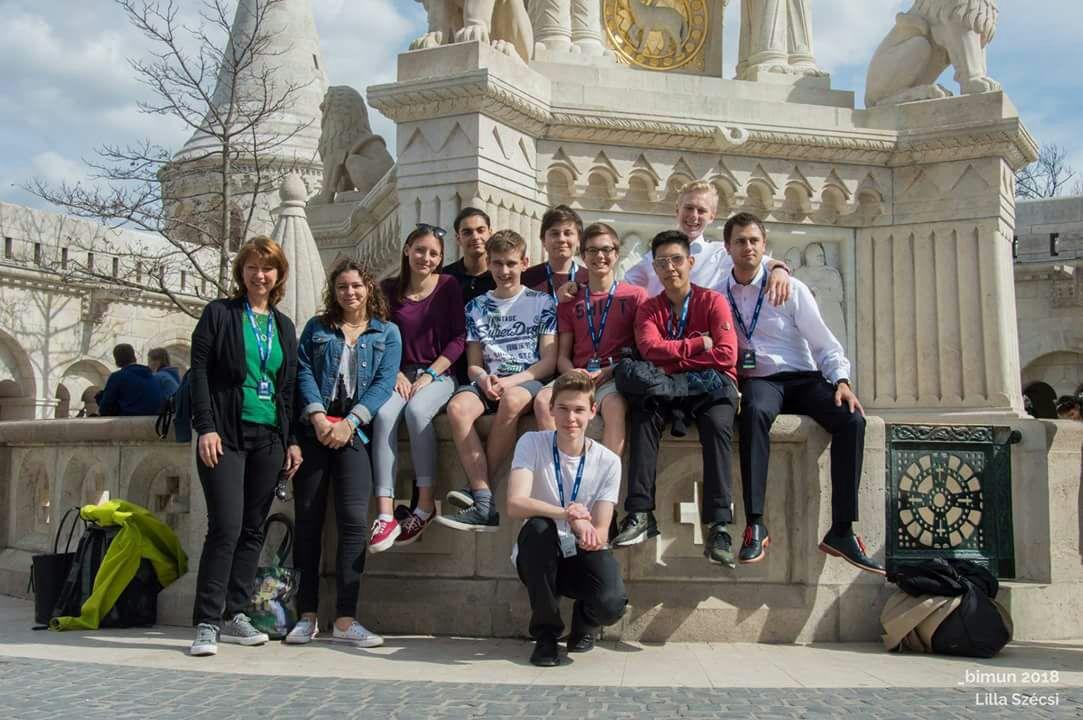 BIMUN-Konferenz in Budapest